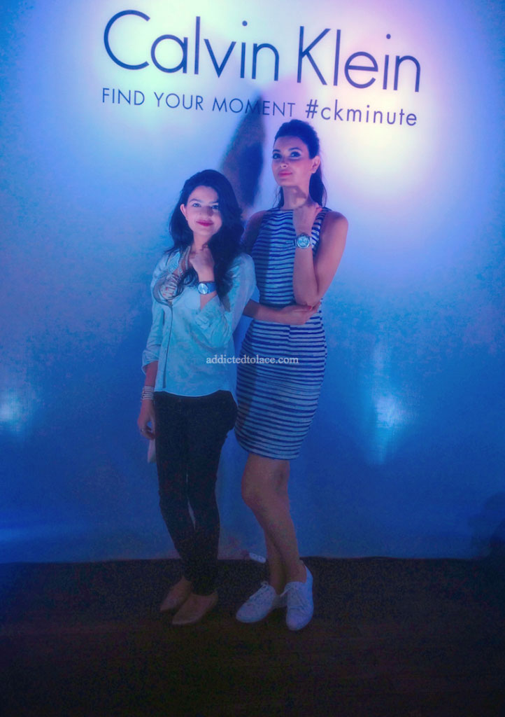 Flaunting the CK Spellbound collection with Diana Penty