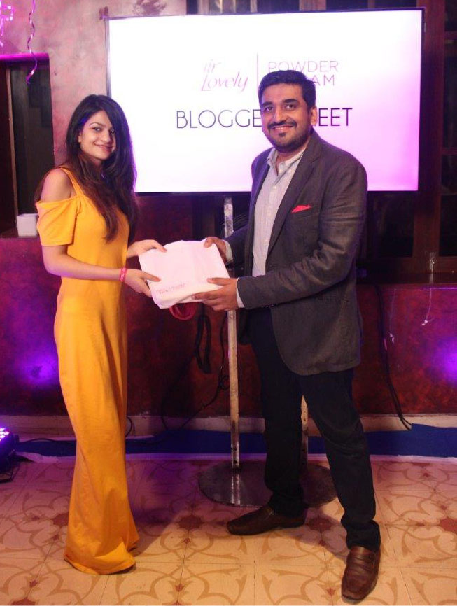 With Mr. Pratik Ved, Sr. Brand Manager, Fair & Lovely India
